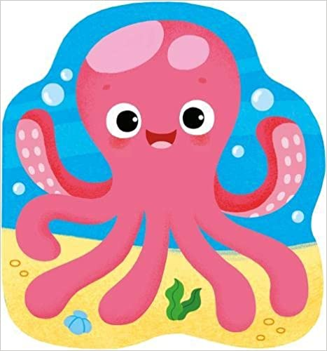 Octopus (Shaped Bath Book 3) - (Bath Book)